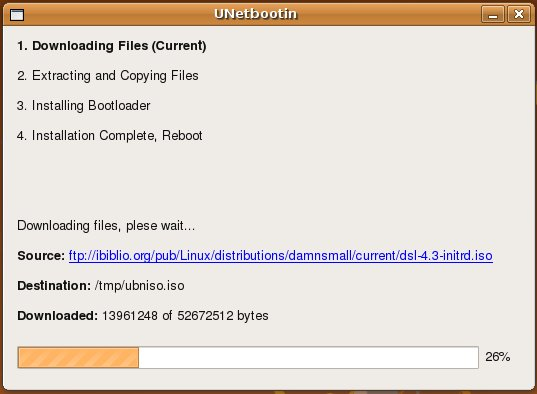 Make boot-able Linux/Ubuntu USB drive using UNetbootin: Live CD solution to backup your data  (4/4)