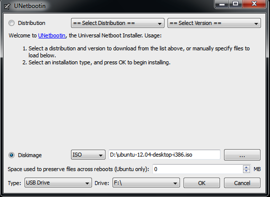 Make boot-able Linux/Ubuntu USB drive using UNetbootin: Live CD solution to backup your data  (1/4)