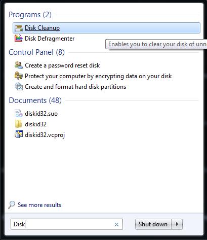 Speedup Windows 7 : Boost Windows 7 Performance tips (6/6)