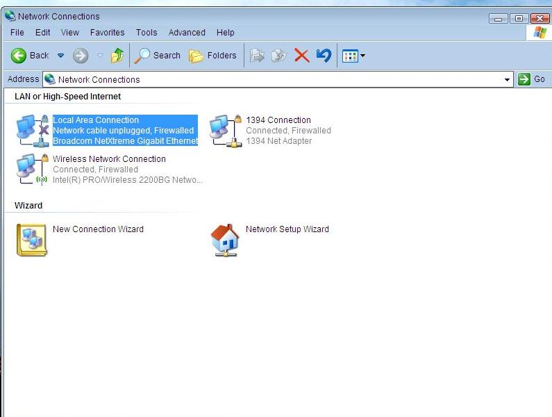 How to share Internet connection: Ad-hoc network in Windows XP (3/6)