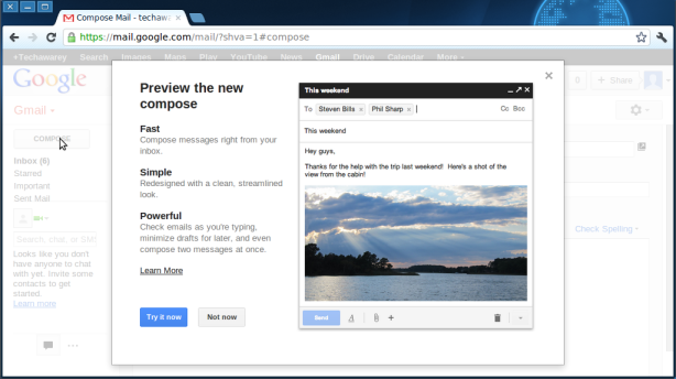 Gmail-New Compose Window